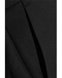 McQ - Black Tuxedo Wool-twill Culottes - Lyst