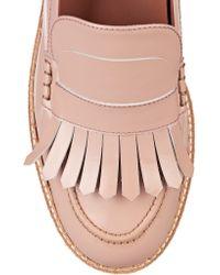 Flamingos - Multicolor Wellington Patent-leather Platform Loafers - Lyst