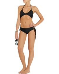 Mikoh Swimwear - Black Namotu String Bikini Top - Lyst