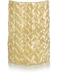Jennifer Fisher | Natural Xl Braid Gold-plated Cuff | Lyst