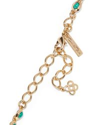 Oscar de la Renta   Metallic Sea Tangle Gold-plated Resin Necklace   Lyst