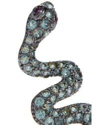 Noir Jewelry - Metallic Serpent Creeper - Lyst