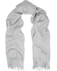 Rag & Bone   Multicolor Two-tone Double-faced Merino Wool Scarf   Lyst