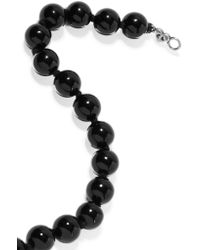 Chan Luu - Black Beaded Onyx Necklace - Lyst