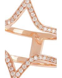 Carbon & Hyde - Pink Viceroy 14-karat Rose Gold Diamond Ring - Lyst