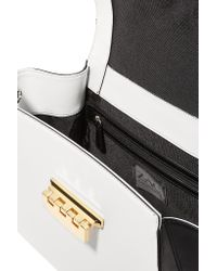 Zac Zac Posen - White Eartha Ionic Leather Tote - Lyst