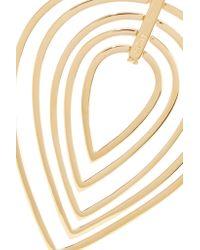 Noir Jewelry - Metallic Biba Gold-tone Necklace - Lyst