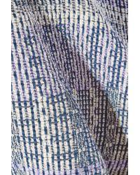 10 Crosby Derek Lam - Multicolor Cotton-blend Tweed Mini Skirt - Lyst