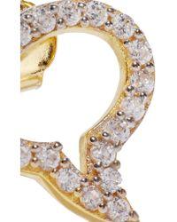 Aamaya By Priyanka - Metallic Speech Bubble Gold-plated Topaz Earrings - Lyst