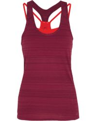 Nike - Red Victory Dri-fit Stretch-jersey Top - Lyst