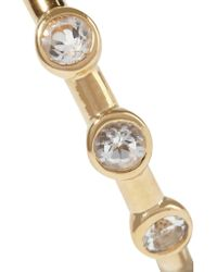 Elizabeth and James - Metallic Jean Gold-tone Crystal Ring - Lyst