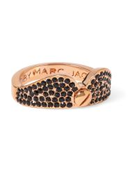 Marc By Marc Jacobs | Multicolor Collar Rose Gold-tone Crystal Ring | Lyst