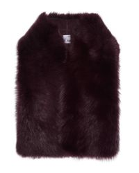 Iris & Ink - Multicolor Francesca Shearling Gilet - Lyst