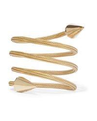 Rosantica - Metallic Freccia Gold-tone Bracelet - Lyst
