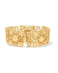 Ben-Amun | Metallic Gold-plated Bracelet | Lyst