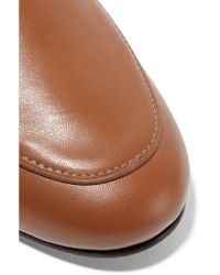 Newbark - Brown Liza Leather Loafers - Lyst