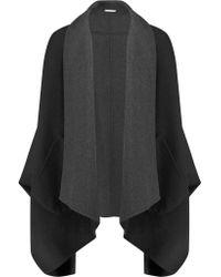 Diane von Furstenberg | Black Sally Reversible Wool-blend Coat | Lyst