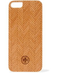 Tory Burch | Brown Wood Iphone 5 Case | Lyst