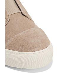 Atelje71 - Purple Suede Sneakers - Lyst