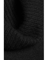 Vince - Black Cashmere Turtleneck Sweater - Lyst