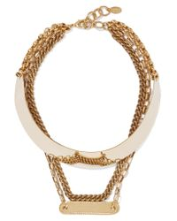 Elizabeth Cole - Metallic Gold-tone Necklace - Lyst
