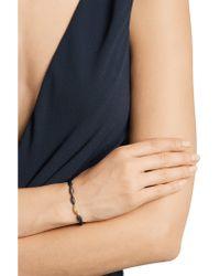 Alexis Bittar - Brown 18-karat Gold, Sterling Silver And Diamond Bracelet - Lyst