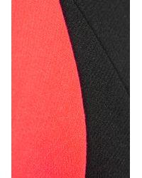 ROKSANDA   Black Malkyn Belted Crepe Jumpsuit   Lyst