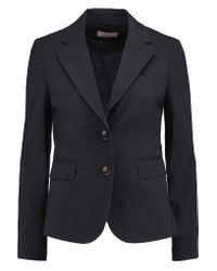 Tory Burch | Blue Marissa Cotton-blend Blazer | Lyst