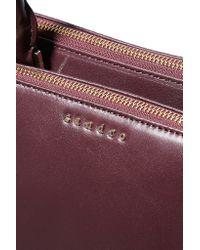 Sandro - Purple Alanisse Leather Tote - Lyst
