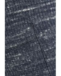 Splendid - Blue Mélange Stretch Ribbed-knit Bootcut Pants - Lyst