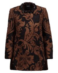 Simone Rocha | Black Embellished Chenille Jacket | Lyst