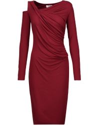 Bailey 44 | Multicolor Draped Cutout Stretch-jersey Dress | Lyst