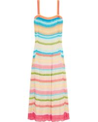 Missoni | Multicolor Crochet-knit Maxi Dress | Lyst