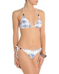 Heidi Klein - White Printed Low-rise Bikini Briefs - Lyst