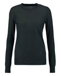 JOSEPH | Green Cashmere And Silk-blend Sweater | Lyst
