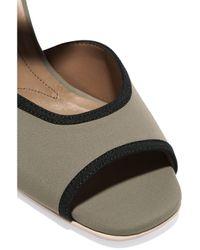 Marni - Gray Elastic-trimmed Neoprene Sandals - Lyst