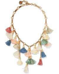 Ben-Amun | Metallic Gold-plated Tassel Necklace | Lyst