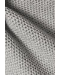 Rag & Bone - Gray Rita Boyfriend Open-knit Cotton Sweater - Lyst