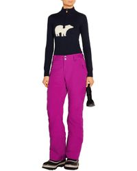 Peak Performance - Purple Anima Shell And Canvas Ski Pants - Lyst