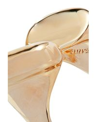 Elizabeth and James - Metallic Woman Gold-tone Ring Gold - Lyst