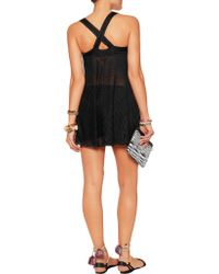 Missoni - Black Crochet-knit Top - Lyst