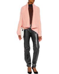 Haider Ackermann - Pink Mohair-blend Cardigan - Lyst