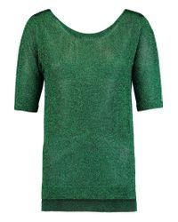 Missoni | Green Metallic Knitted Top | Lyst