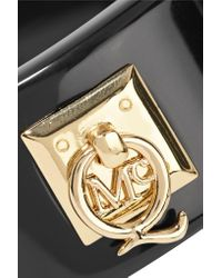 McQ - Black Resin And Gold-plated Bracelet - Lyst