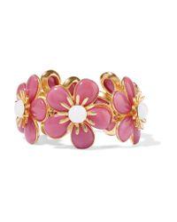 Ben-Amun | Pink Gold-plated Resin Bracelet | Lyst