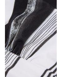Norma Kamali | Black Printed Bandeau Bikini Top | Lyst