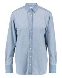 Rag & Bone | Blue Denim Boyfriend Shirt | Lyst