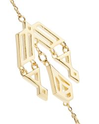 Noir Jewelry | Metallic Zapotec Gold-tone Earrings | Lyst