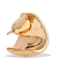 Noir Jewelry - Metallic Venom Gold-tone Earrings - Lyst