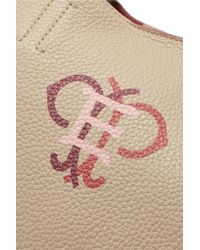 Emilio Pucci - Natural Printed Textured-leather Shoulder Bag - Lyst